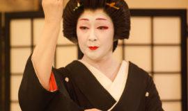 Geisha in Otaru