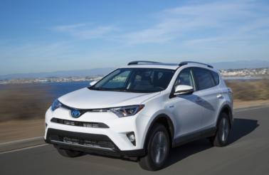 Toyota Hybrid Car