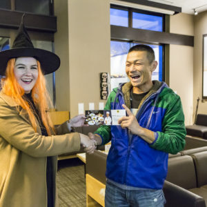 Rodeo Winner Toshiaki At Halloween Event 2016