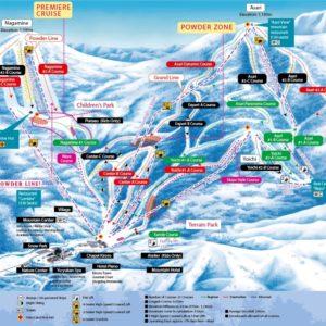 Kiroro Trail Map
