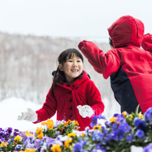 Children at ceremony.