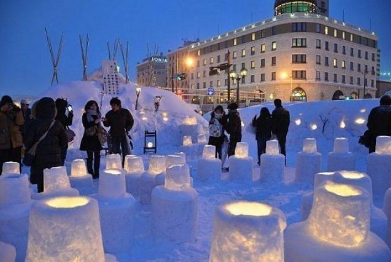Otaru Snow Light Path Festival 2 161101 183123