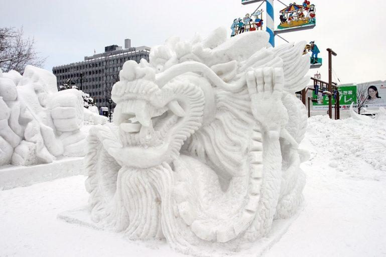 Sapporo Snow Festival For Ki8