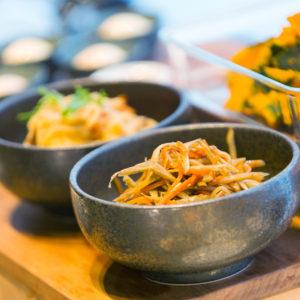 料理例-北海道産食材を使った料理の数々