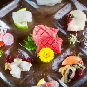 料理例-様々な鮮魚のお刺身