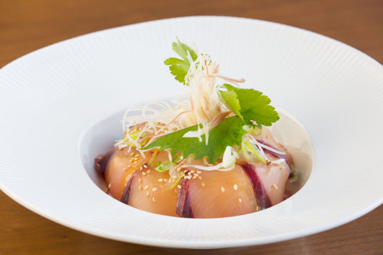 Wild Kingfish Sashimi Don Set at Ki Niseko's An Dining.