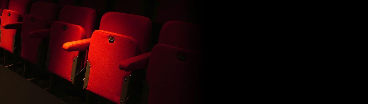 Cinema Red Seats Hero Movie Theater