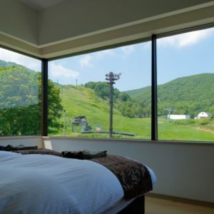 リゾートサイドのお部屋からの景観