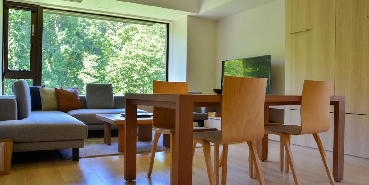 空調付き客室一例