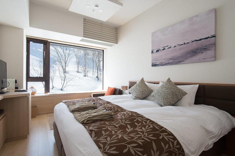 Hotel Room Resort Side Winter