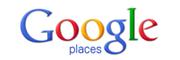 Google places button