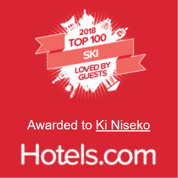 Ki Niseko 2018 Top 100 Ski Loved By Guest Award