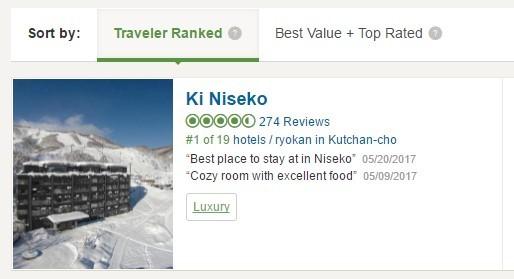Trip Advisor Ki Niseko