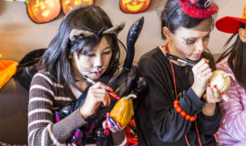 Kids At Halloween Event Ki 2016