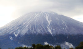First Snow on Mt. Yotei
