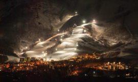 Niseko Night Skiing