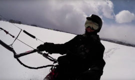 Snow Kiting Featured