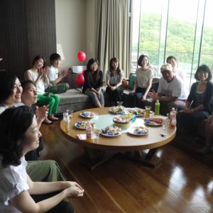 Guests at the last Love Is In Niseko event.