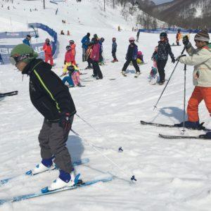 Setting off skiing. Photo courtesy of GoSnow.