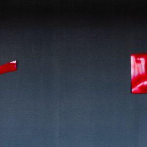 An Dining Red Sculptures