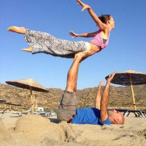 Aram Raffy Yoga Beach