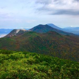Views hiking Chisenupuri.