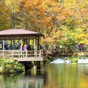Fukidashi Park scenery.