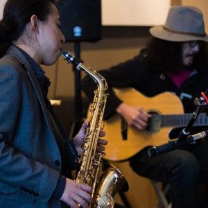 Jazz Music in the Ki Lobby