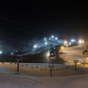 Night Ski Lights Grand Hirafu 01 24 18 8
