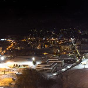 Night Skiing Hirafu Village
