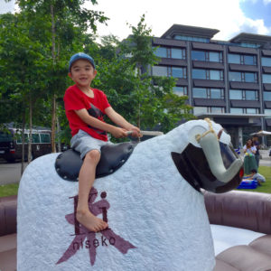 Ride the Rodeo at Ki Festival.