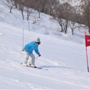 Skiing at Grand Hirafu. Photo courtesy of GoSnow.