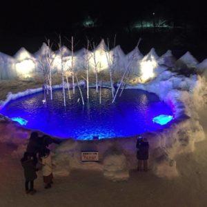 Shikotsu Ice Festival 2017