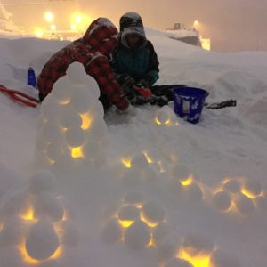 Snow Lantern Making Workshop