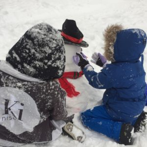 Snowman Making Workshop At Ki Niseko 2017 1