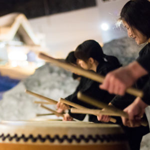 New Year Taiko Drumming