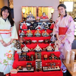 At our Hinamatsuri celebrations.