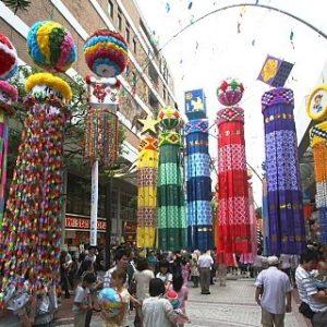 Tanabata in Sendai