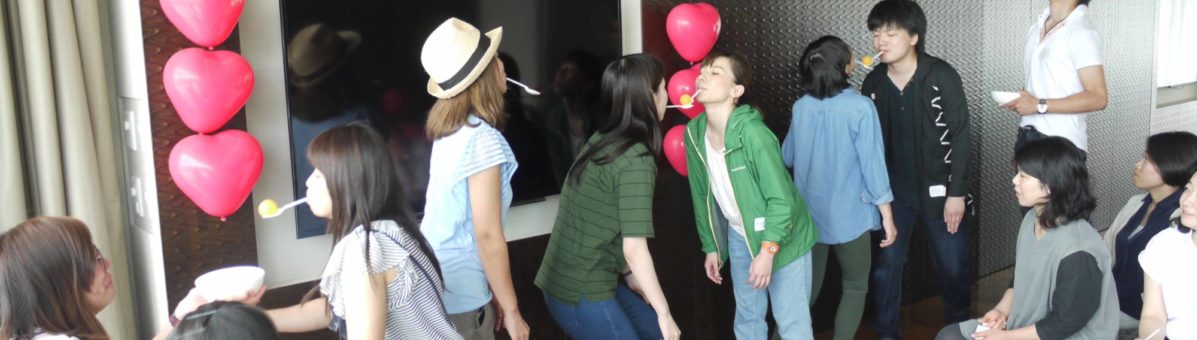Fun and games at the last Love Is In Niseko event.