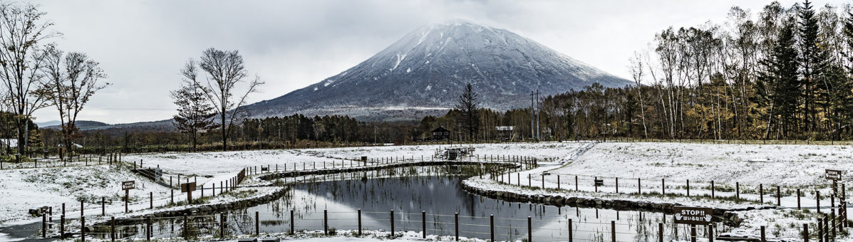 Mt Yotei snowfall