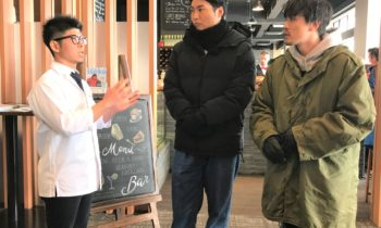 Otokotabi Exile Members Come To An Dining For Tv Show 1