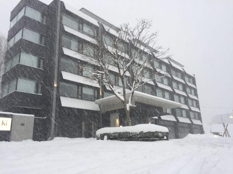 2015 12 04 Ki Niseko Blizzard Snow