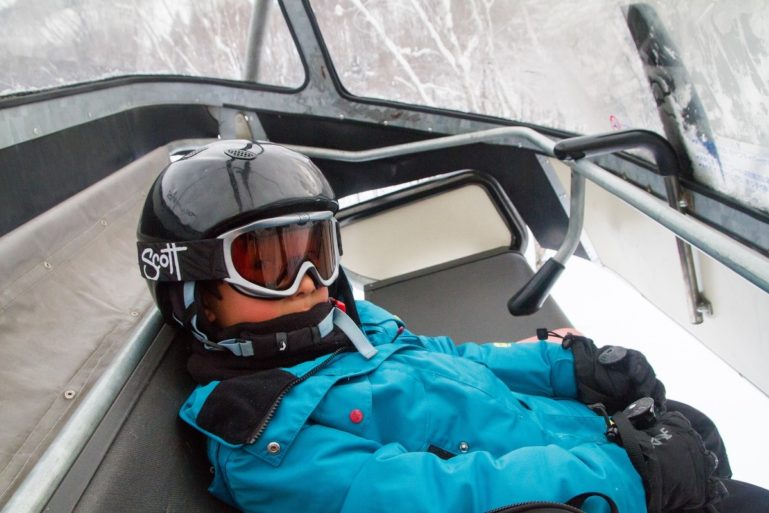 Gcp Go Snow Stock Hooded Lift Rider