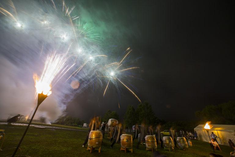 Hirafu Matsuri 2016 Summer Festival 14 Fireworks And Taiko Drums3