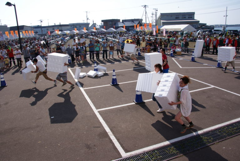 Iwanai Town Dotou Matsuri Summer Festival Games And Contests