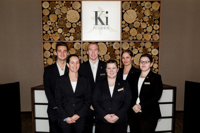 Ki Niseko Front Desk Team