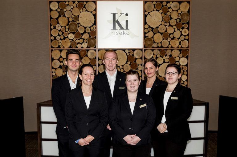 Ki Niseko Front Desk Team