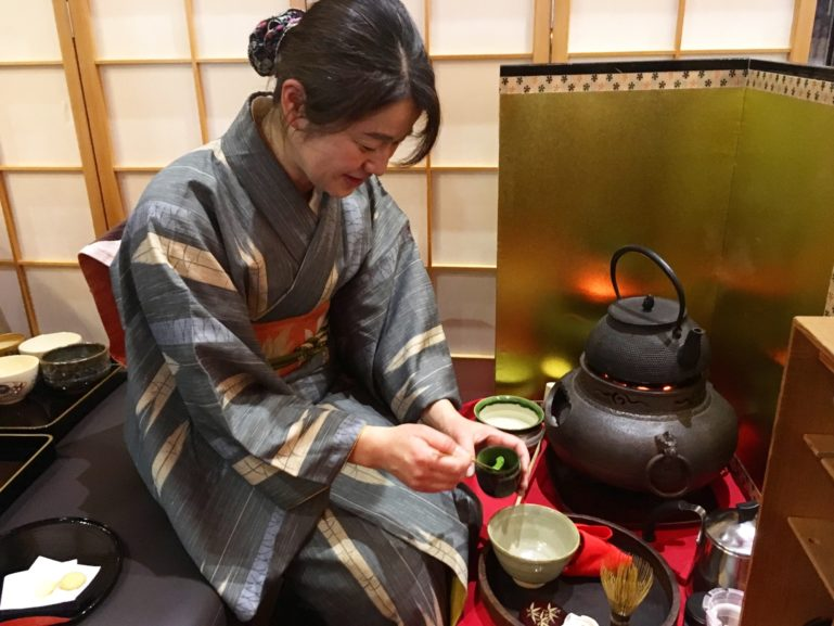 Tea Ceremony at Ki Niseko
