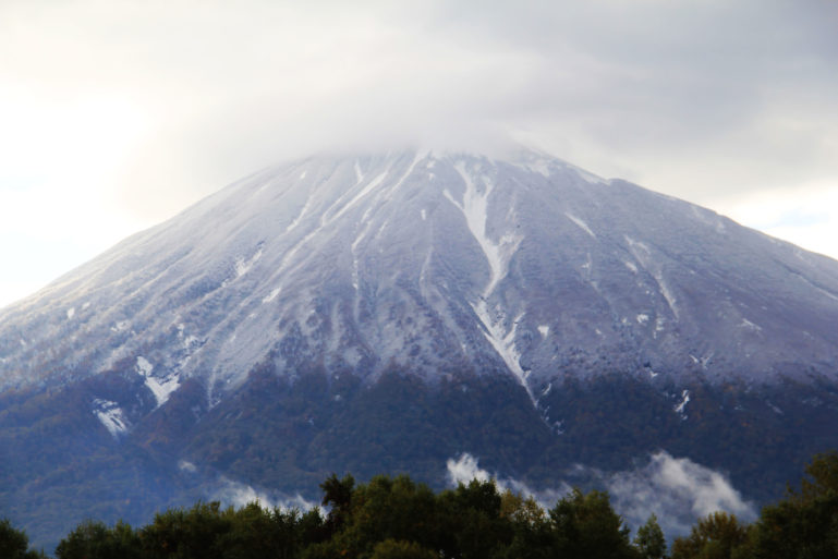 First Snow on Mt. Yotei