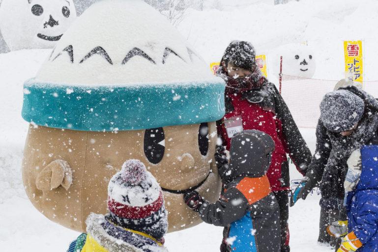 Yukitopia 2017 Kutchan Mascot